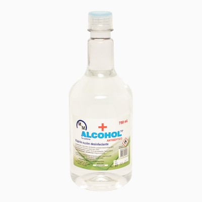 ALCOHOL X 750 ML al 70%